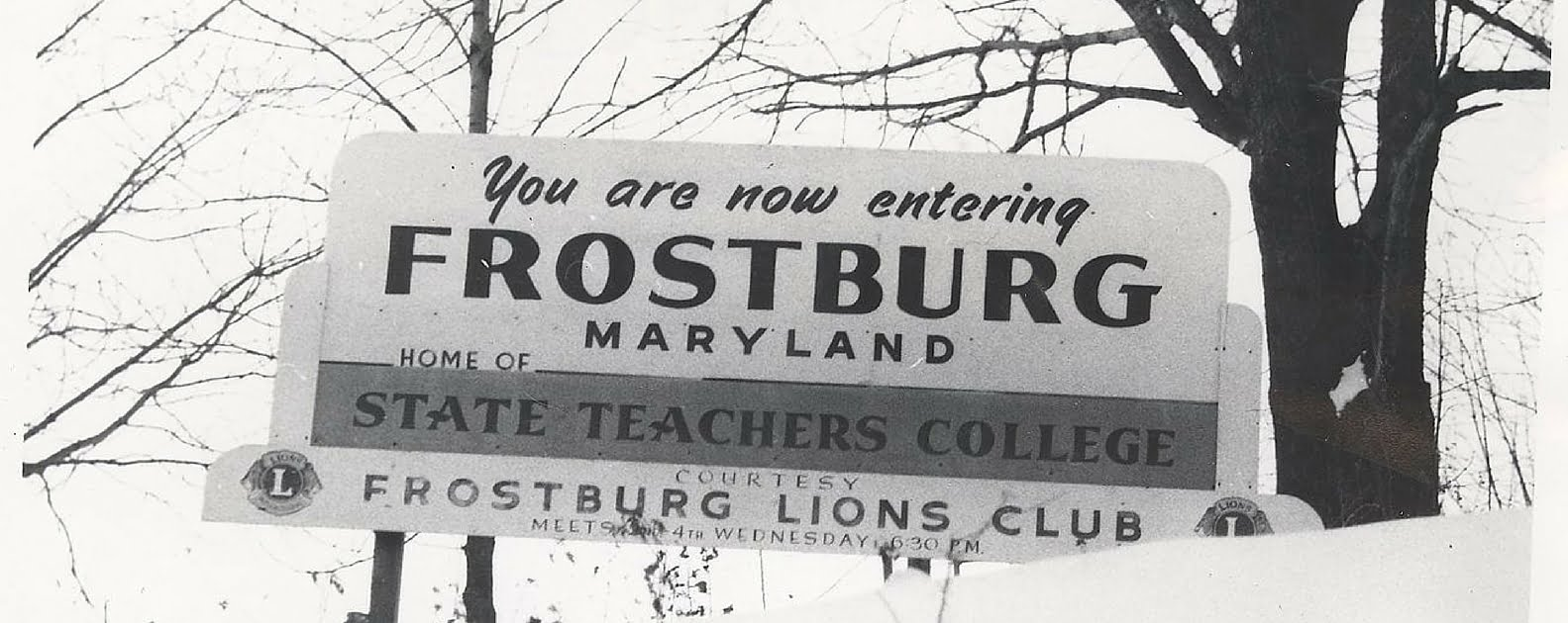 Frostburg Teachers' Sign