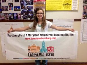 FrostburgFirst Chooses FSU Student Megan Dignan's Logo Redesign