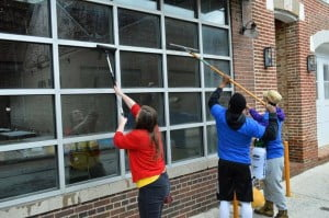 Volunteers invest over 15,000 hours into downtown Frostburg in 2016