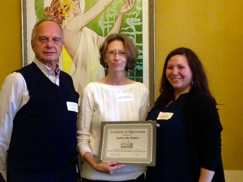 Honoring Andrea De Palatis for Length of Service