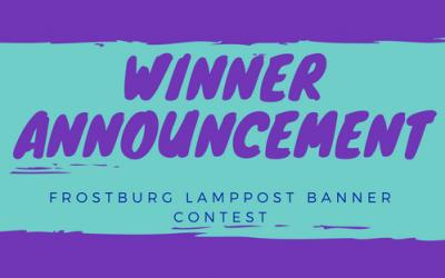 FrostburgFirst Announces Lamppost Banner Contest Winner