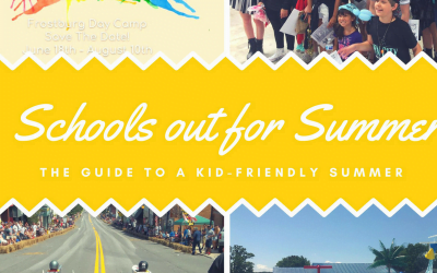 Schools out for Summer: The Guide to a kid-friendly Summer in Frostburg