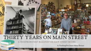 Thirty Years on Main Street: Main Street Books Anniversary Blogpost