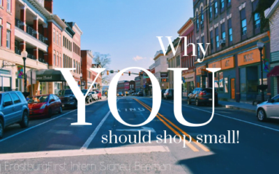 Why You Should Shop Small!