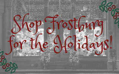 Shop Frostburg for the Holidays!