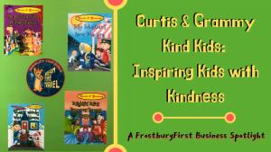 A FrostburgFirst Business Spotlight: Curtis & Grammy Kind Kids - Inspiring Kids with Kindness