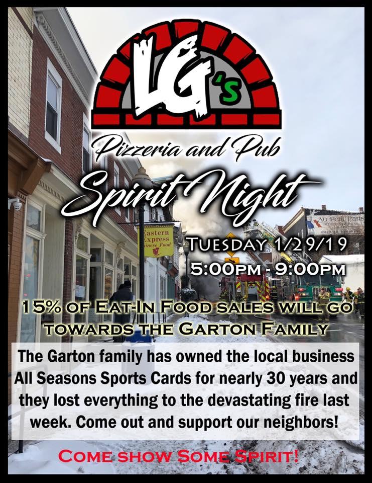 LG's Pizzeria and Pub