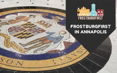 FrostburgFirst Heads to Annapolis!