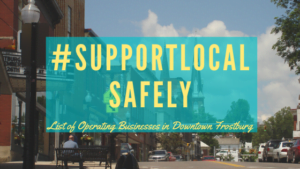 Support Our Downtown Frostburg Businesses During Covid-19 Restrictions