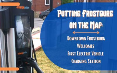 Putting Frostburg on the Map:  Downtown Frostburg Welcomes First Electric Vehicle Charging Station