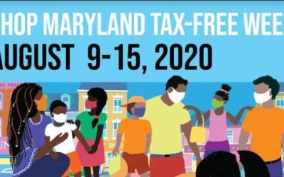 Shop Maryland Tax Free Week, August 9-15