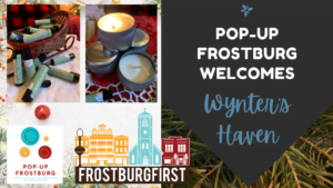 Join Pop-Up Frostburg for #ShopSmallSeason!