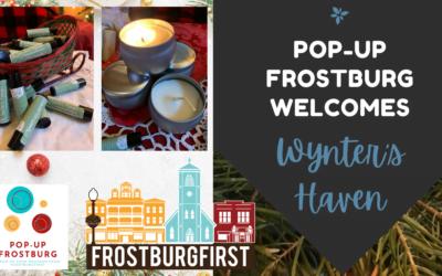 Join Pop-Up Frostburg for #ShopSmallSeason!