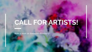 Request for Proposals: Public Art Project for Downtown Frostburg
