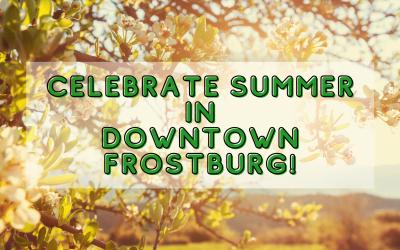 Celebrate Summer in Downtown Frostburg