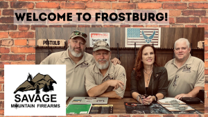 Frostburg Welcomes Savage Mountain Firearms and Tactical Training!