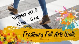 Frostburg Fall Arts Walk Brings the Creativity!